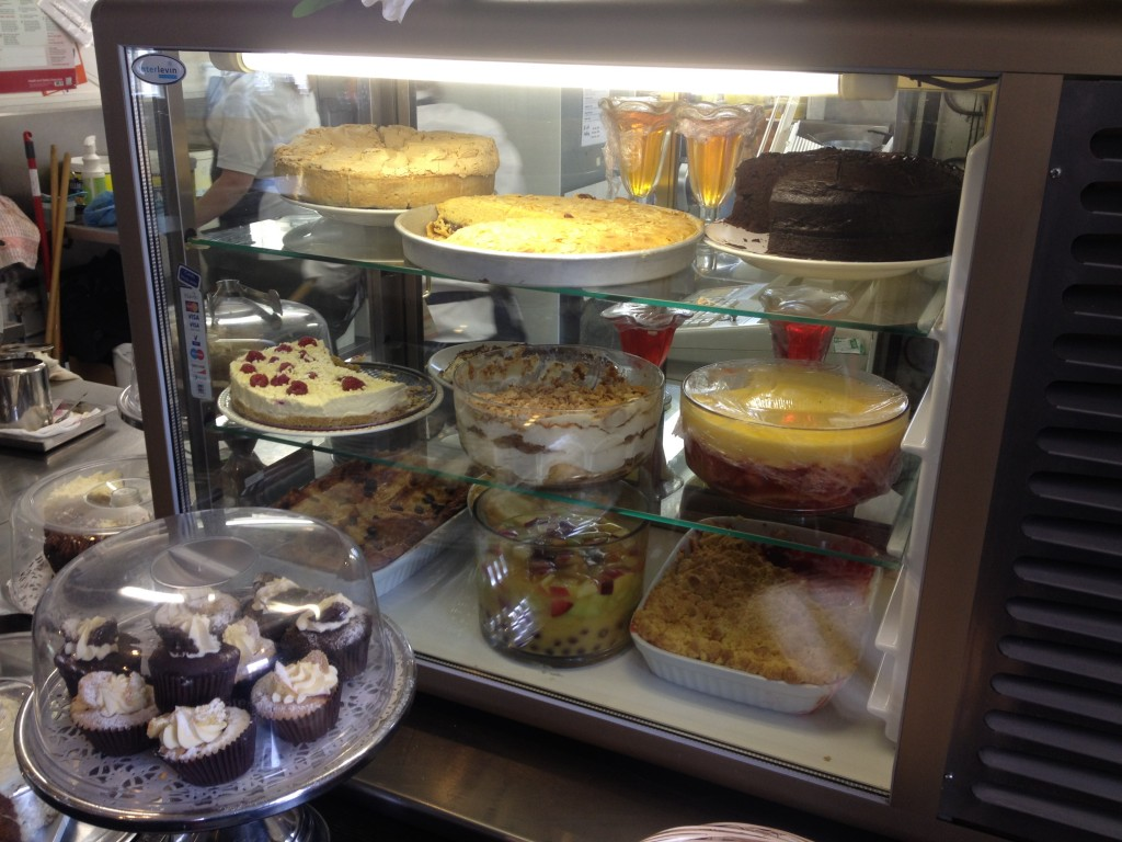 So many amazing desserts at the Wensleydale Pantry